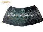 Crepe Geogette Printed Mini Skirt, DTM Elastic Waistband