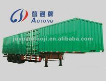 double axle house semi trailer,5 doors on each side