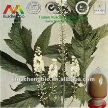 ISO&Kosher 2.5%-5% Triterpene Glycosides Black Cohosh Root Extract Powder