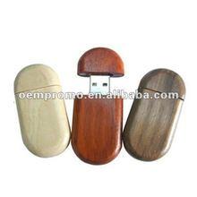 promotional mini 8gb wooden USB flash drive