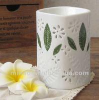 Ceramic Fragrance Lamp Oil Burner for Tealight Candles