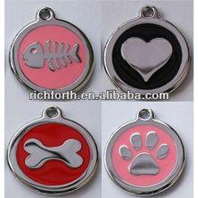 metal alloy pet ID tags