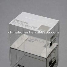 2012 elegant plastic print packaging box