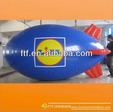 PVC Inflatable Lidl advertising helium blimp