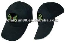 2012 Hot sale black cotton cheap snapback baseball caps