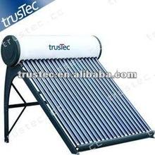 compact non-pressurized solar water heater,sun water heater system,solar vacuum tube water heater system