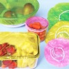 Disposable colorful PE bowl covers, disposable shower caps, disposable plastic elastic dust covers