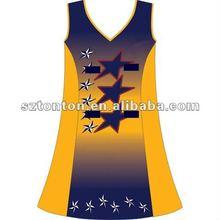 Fashion netball dress design