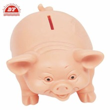 2012 Cool plastic pig shape money boxes