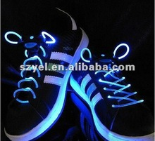 Animation glowing EL&LED wire shoelace for young girls