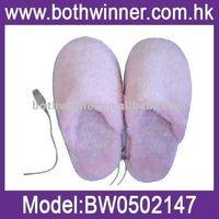 stile semplice elettrico scaldapiedi pantofole