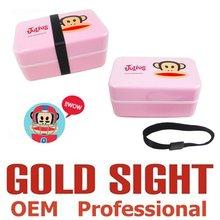 OEM kids lunch box, plastic sushi container, Korea bento box