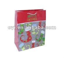 2012 new christmas paper bag