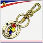 Promotional metal keychains with custom logo