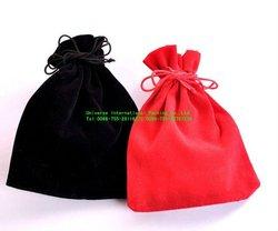 Black flannelette high-grade gem bag/jewelry bag