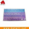 Teclado de silicone película protetora para computador portátil/tampa do notebook