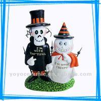 ceramic halloween decoration Halloween spirit wholesale craft supplies