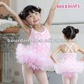 Childern Unterhemd-Ballettröckchen-Kleidtrikotanzug, für Tanz und Ballett