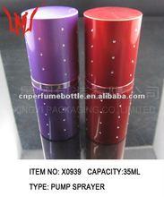 35ML Aluminum bottle Spray with gemstones
