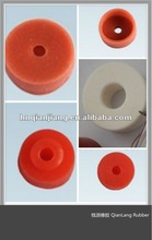 Custom high temperature resistant silicone rubber electric heat pipe heat insulation washers
