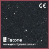 quartz surfaces,artificial stone,starlight black
