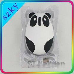 Animal mini mouse,cute Panda optical computer mouse