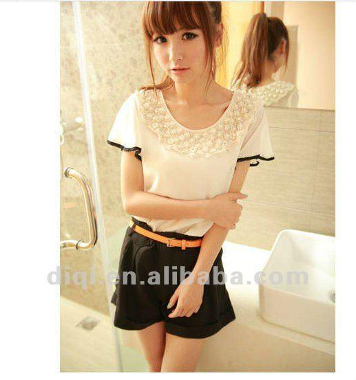 los modelos de blusas para damas 2013 en verano