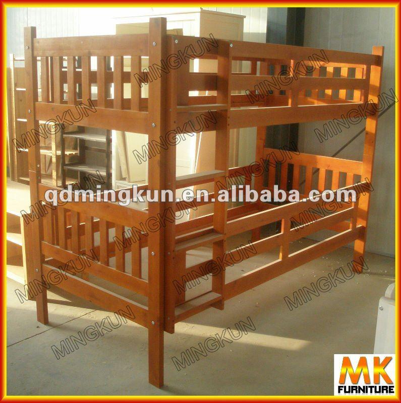 Madera doble m s de doble litera camas identificaci n del - Como hacer literas ...