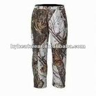 Far infrared Carbon Fiber Heated camo bdu pants