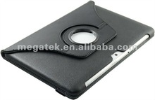 360 rotating Leather case for samsung galaxy tab 10.1 P5100