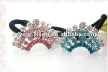 Cheap mini rhinestone tiara crown hair band