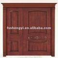 Mano - tallado primaria - secundaria puerta de madera