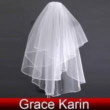 New Bridal Veil with Comb 2012 CL2626
