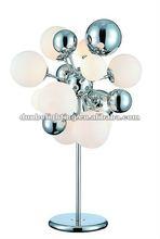 2012 Modern Desk Lamp with glass ball
