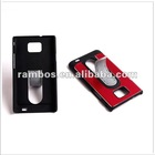 Fashion stand Aluminum mobile phone protective case for Samsung Galaxy s2 i9100