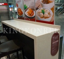 solid surface stone Commercial bar counter