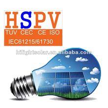 High Efficiency Low Price Transparent Solar Panel 200w