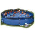 fácil configuração de plástico inflável piscina