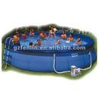 Easy set inflatable plastic swimming pool