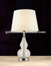 2015 italy classical table lamp glass body (IHQD11085)