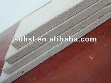 water/fire proof gypsum board false ceiling,wood fiber reinforced