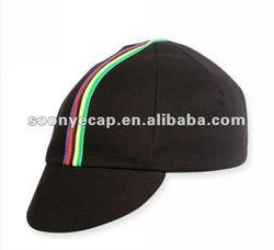PACE WORLD CHAMPION BLACK w/RIBBON FIXED GEAR TRACK CYCLING CAP HAT BIKE KOOLFIT
