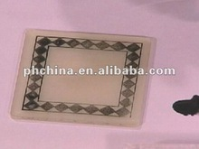 2012 New Square Acrylic coaster Acrylic cooktail coaster Acrylic cooktail pads