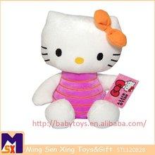 Cuddly Peach Hello Kitty Plush Doll For Sales,Hello Kitty Stuffed Toy