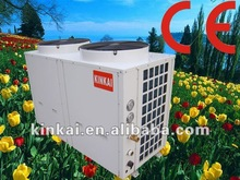 Household Sanitary Water Mini Heat Pump 12000~24000 btu Air to air water double Source Floor heating heater solar Heat Pump