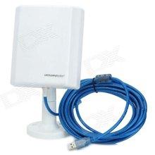 LG-N100 5000mW 802.11n 150Mbps USB Wireless Wi-Fi Network Adapter - White