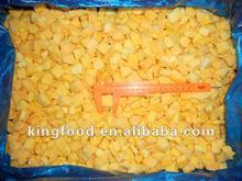 Newest crop frozen mango dice