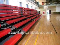 anti-aging,anti-fire retractable stadium seat,arena telescopic seating,telescopic tribune bleacher for multisports use