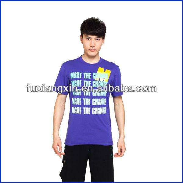 2013 fashion men's t-shirt korea design cheap hot sell in summer