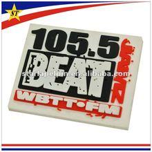 Promotional fridge rubber magnets with custom design